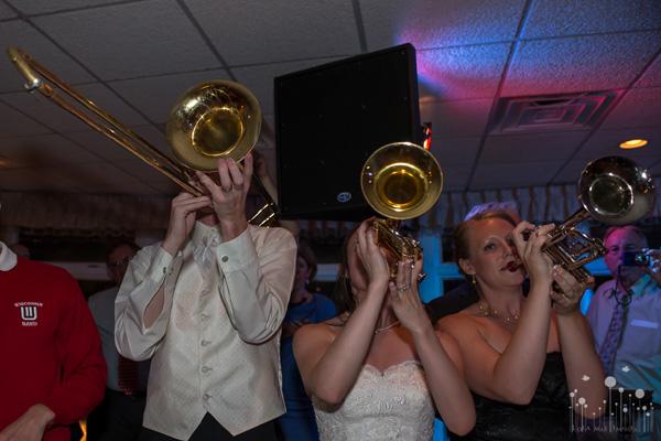Marching Band Alumni Wedding