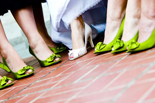Wedding shoes - St Patricks Day