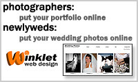 Flash Portfolio Websites by WinkletWeb Design