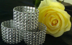Crystal Napkin Rings
