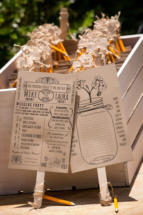 DIY Ceremony Program