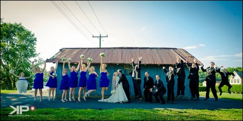 Bridal Party Maryland Wedding