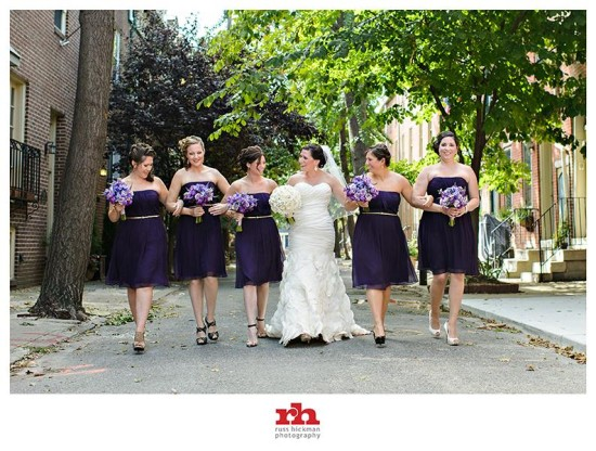 Bridesmaids-purple