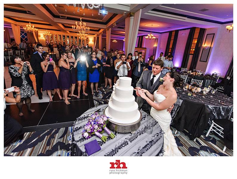 Cut The Wedding Cake At Vie In Philadelphia