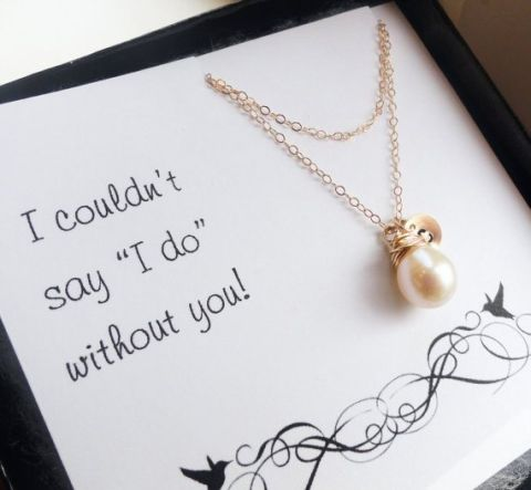 Necklace - I couldnt say I Do without You