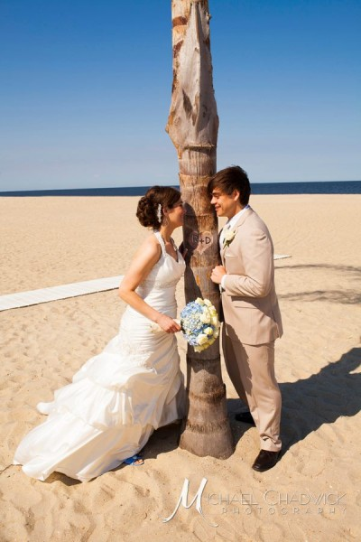 Jersey Shore Bride and Groom