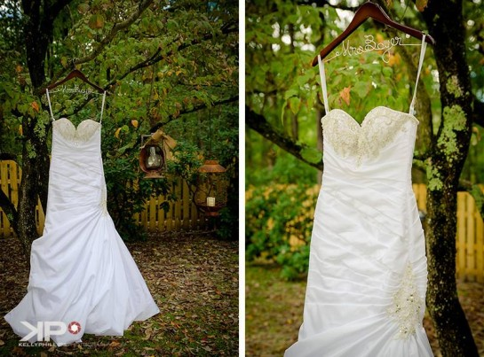 New Jersey Vineyard Wedding Dress