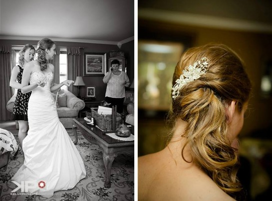 Bride Getting Ready New Jersey Wedding