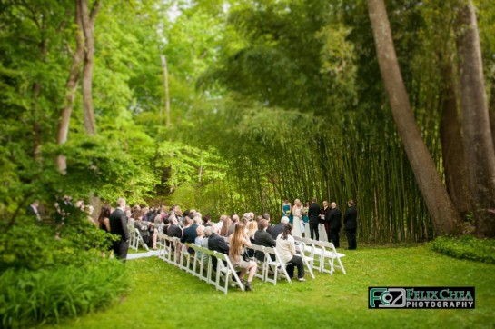 outdoor pennsylvania wedding ceremony