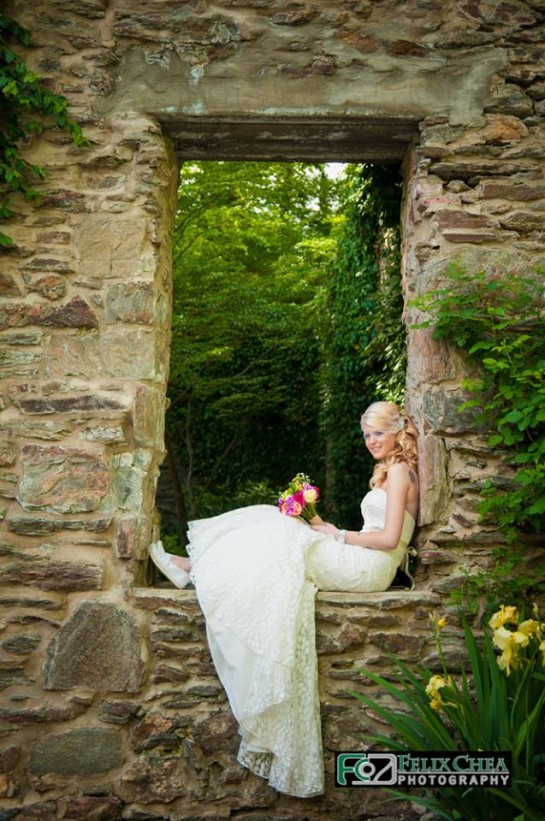 Bride Pose at Old Mill PA