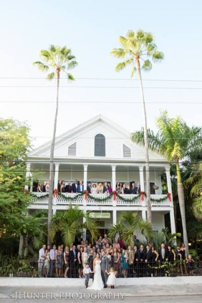 Wedding at Old Town Manor Key West Florida