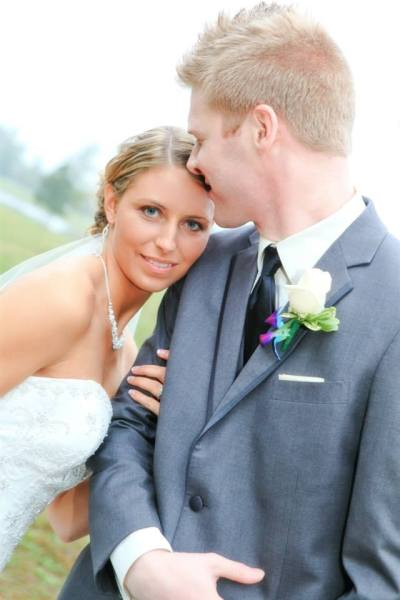 Bride and Groom - Wedding in North Carolina