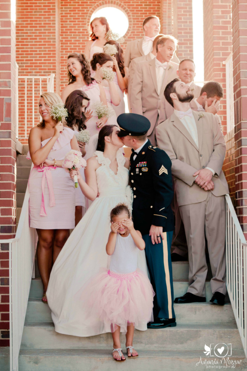 Kiss - Wedding Party Photo Idea