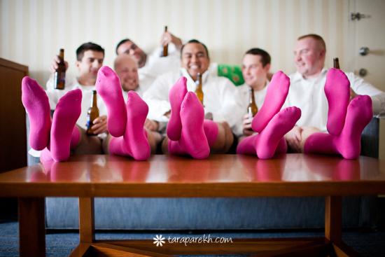 Silly Grooms - Wedding Photo